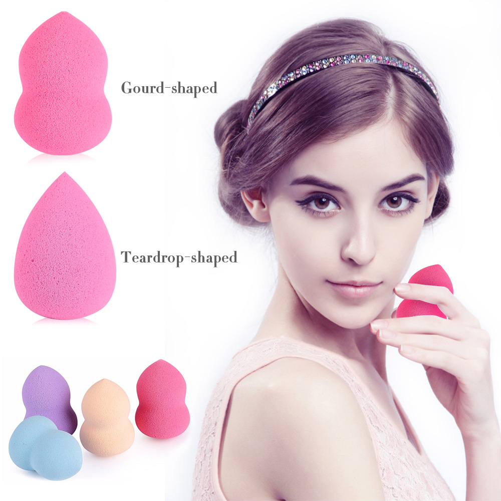 Foundation Sponge Blender Blending Facial Makeup Sponge Cosmetic Puff Flawless Beauty Powder Puff Make Up Sponge