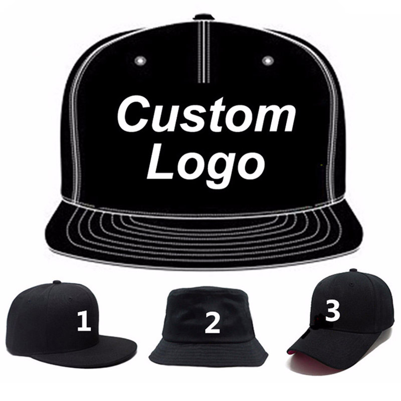Low MOQ custom logo cap embroidery trucker mesh golf tennis hiphop hat full close fitted custom snapback baseball cap custom hat