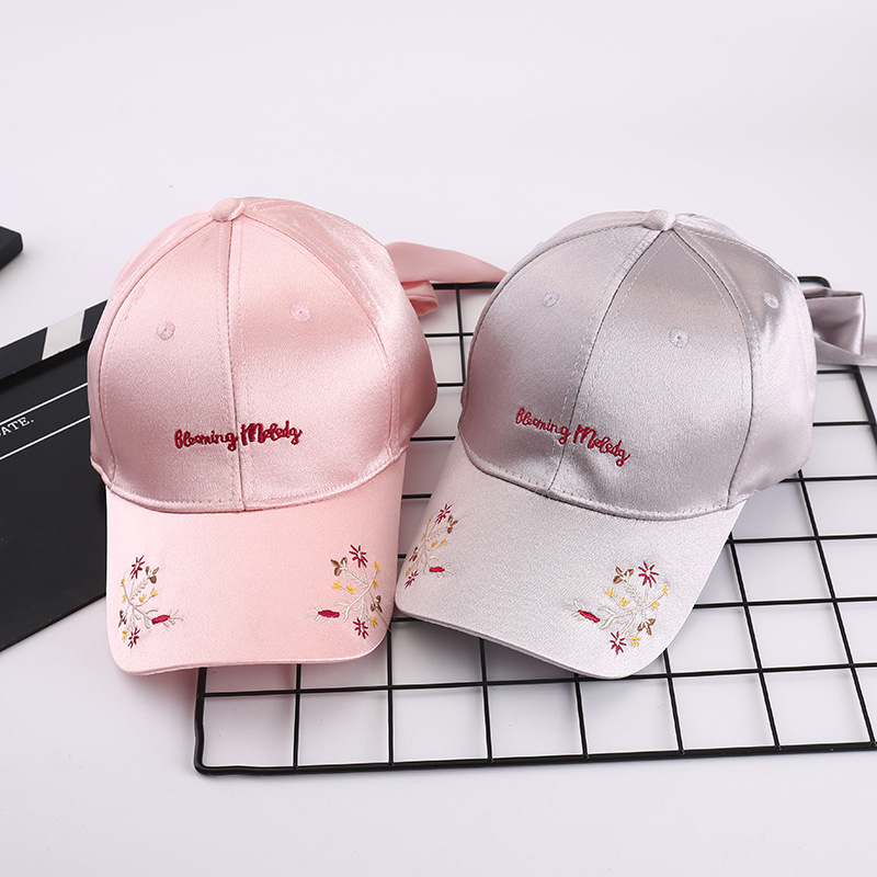 New Fashion Outdoor Sports Cap Flowers Sunscreen Quick Dry Baseball Caps