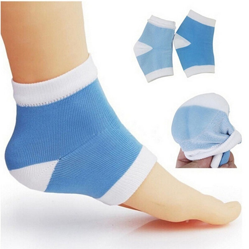 Anti-skid Heel Foot Moisturizing Gel Half Yoga Socks