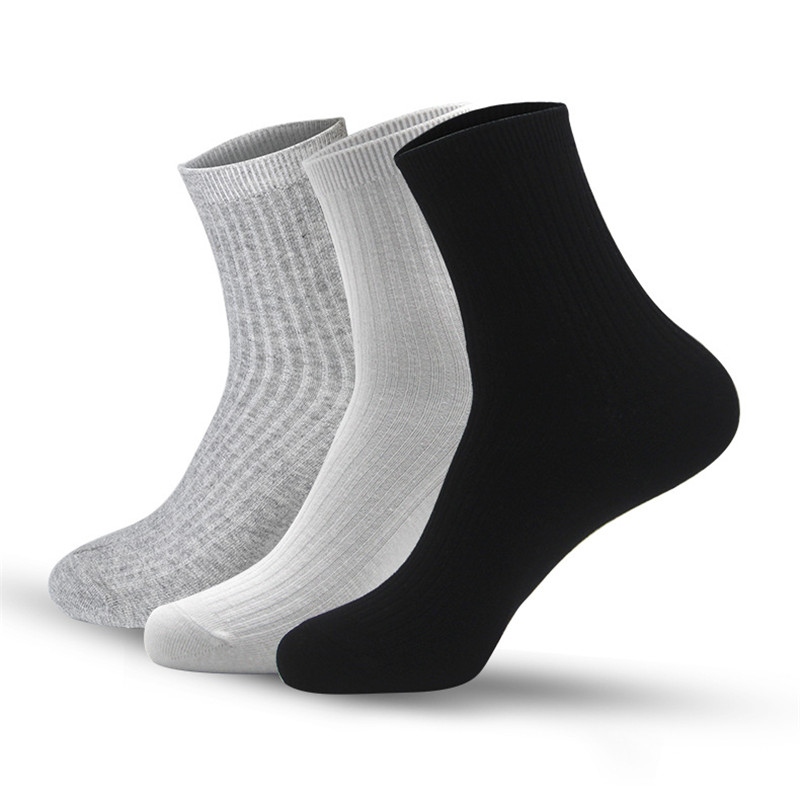 High quality solid color men sheer socks