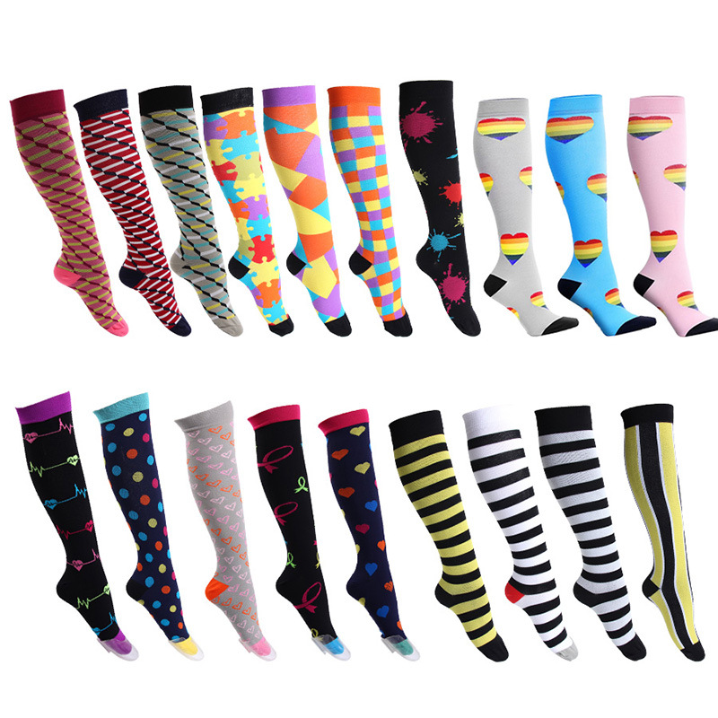 Compression Socks Best Graduated Athletic & Medical for Men & Women, Running, Flight, Travels