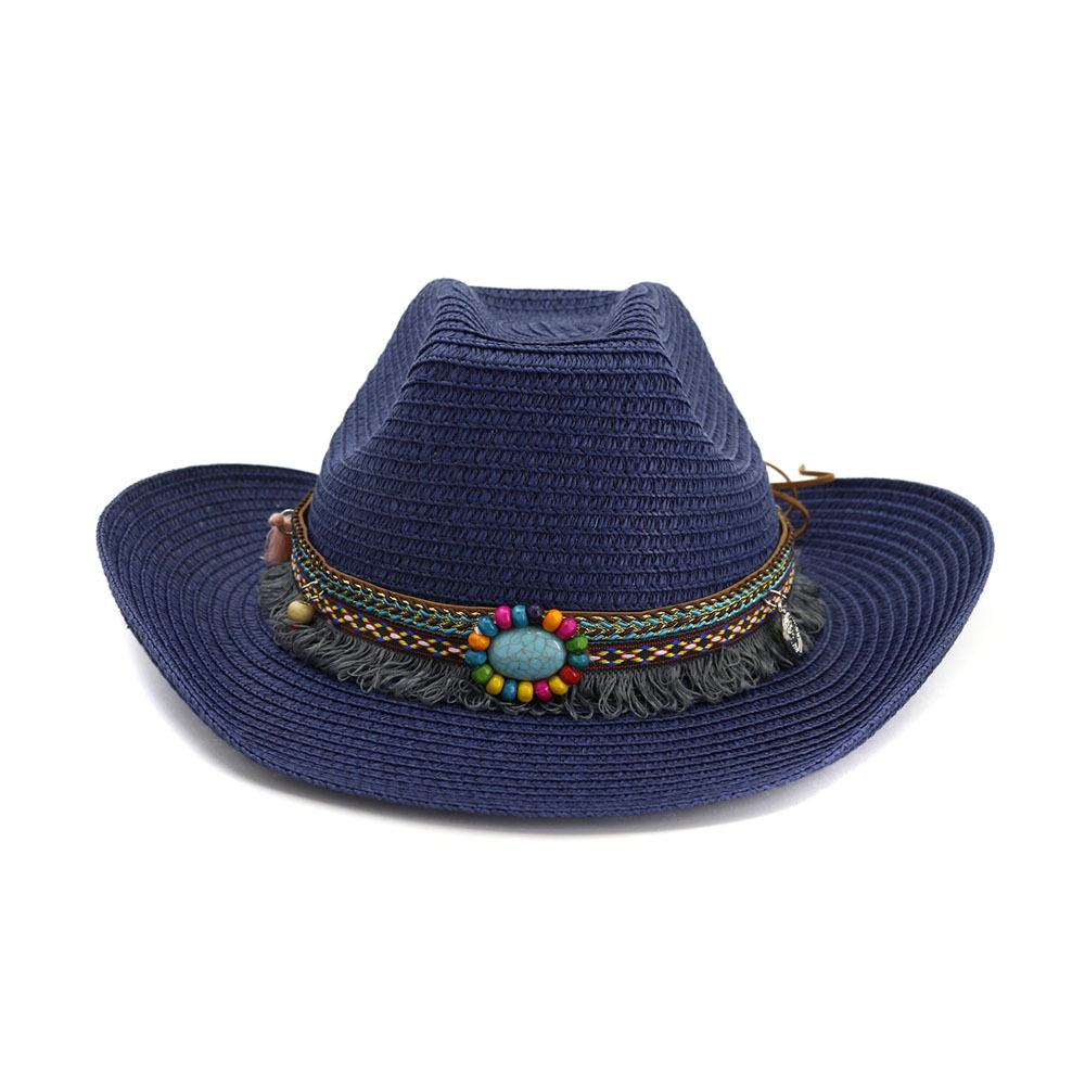 Outdoor Beach Hat sunshade hat for men and women Western Cowboy hat